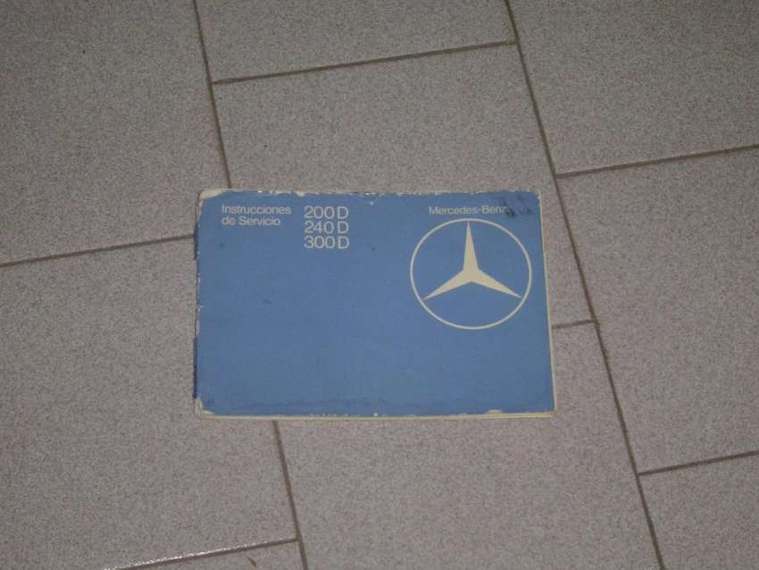 Manual Mercedes Benz W123 diesel 0