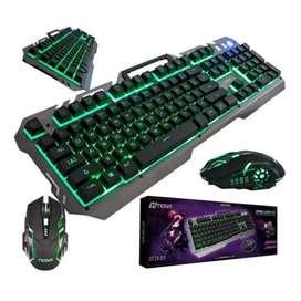 Kit de teclado y mouse gamer Noga