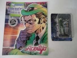 Acertijo de Superhéroes DC Figuras de Colección El Tiempo.