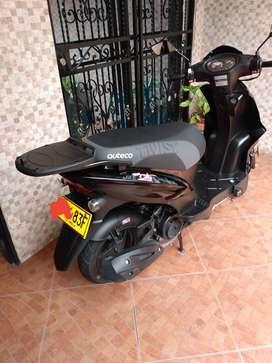 Vende moto twist city 125 modelo 2020 con 3 meses de uso