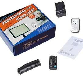 Luz Profesional Para Video Led 540 Cargador Batería Control