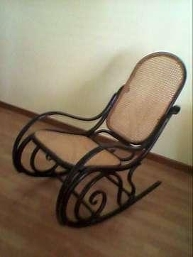 sillón hamaca antiguo