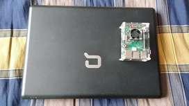 Computador portátil compac Presario y raspberry PI3 Model B+ para repuestos