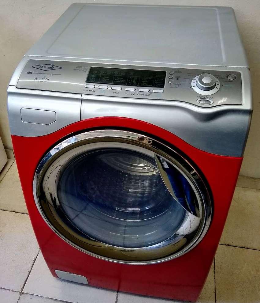 Lavadora Secadora Frontal Haceb 32 Libras Excelente 0