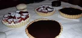 Tartas, alfajores y dulces artesanales