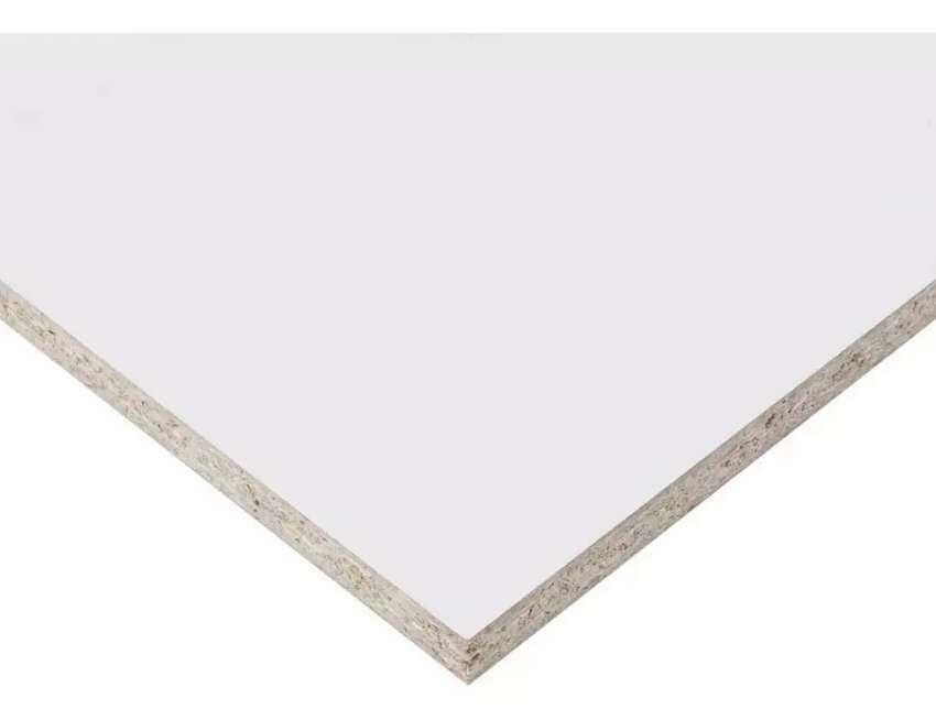 Vendo placa melamina 15 mm aglomerado blanco 0