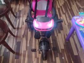 Vendo triciclo flex niña