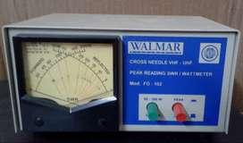 Watimetro Walmar Fo 102 Vhf - Uhf En Martinez