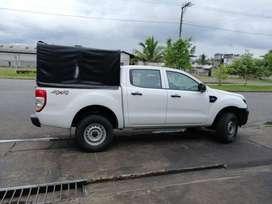 Camioneta ford Ranger 4x4, 2.2 a diésel. Placas Pichincha