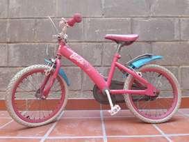 Venta de Bicicleta para niña