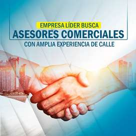 Empresa Líder de Servicios de Televisión Satelital Busca Asesores Comerciales con Amplia Experiencia de Calle