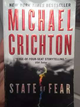 State of Fear by Michael Crichton.