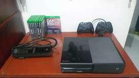 Xbox One con 9 juegos