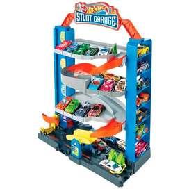 Hot Wheels Stunt Garage Mattel Gnl70 Garaje Extremo