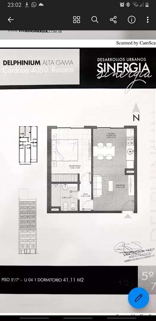 CORDOBA Y AVELLANEDA. DUEÑO depto 1 dormitorio 42 mtrs 0