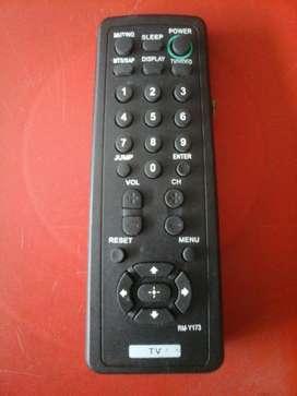 Control Remoto Televisor Sony