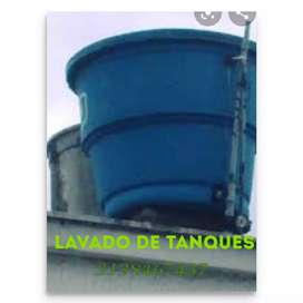 Servicio de lavado de tanques