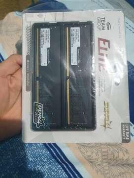 Ram DDR4 32gb (16gbx2) 2666Mhz NUEVO Marca TeamGroup