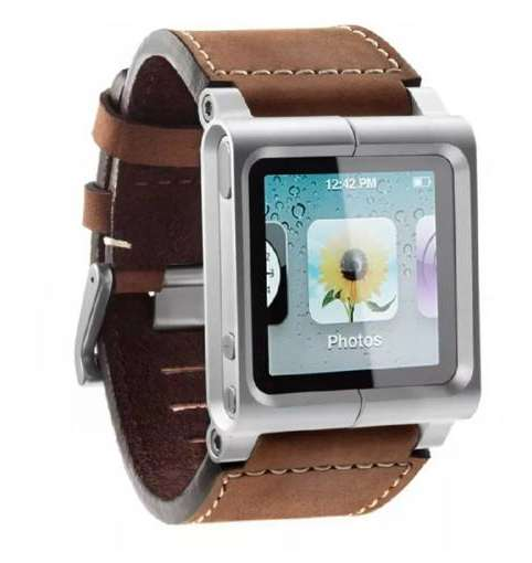 Manilla Lunatik Chicago Tipo Reloj Para Apple Ipod Nano 6 0