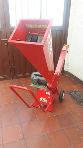 Chipiadora motor gasolina y electrico en Bogota