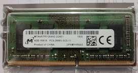 Memoria RAM 4Gb ddr4