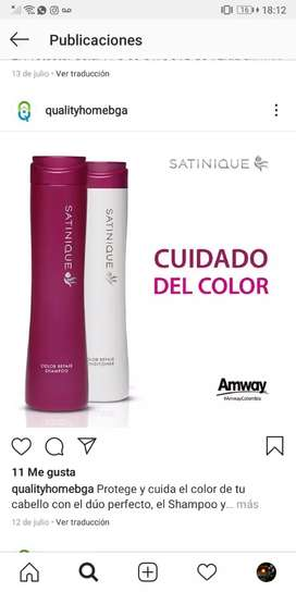 !PROMOCIÓN! CUIDADO DEL COLOR (Shampoo + Acondicionador) SATINIQUE
