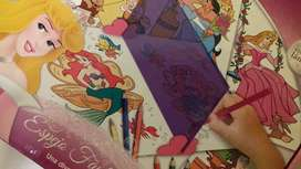Dibujo Espejo Fantasía Disney, aprende a dibujar jugando.