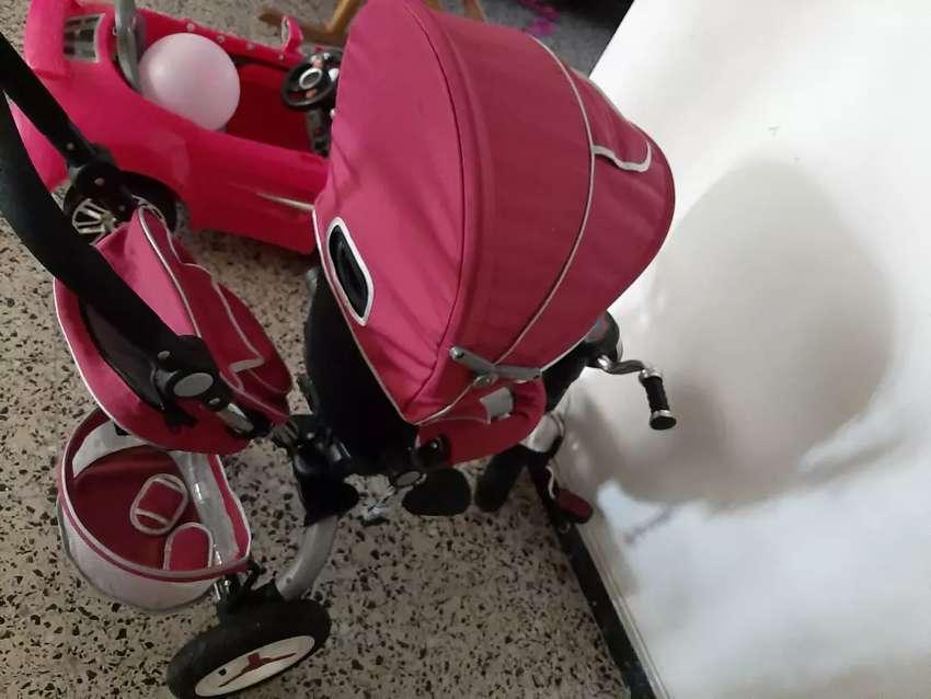 Triciclo- coche 0