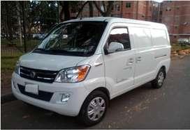 Ofrezco servicios de mensajería y transporte Mini Van carga