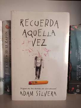 Recuerda aquella vez Adam Silvera Libro