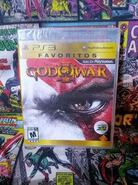 Juego Original God of War 3 para Consola.Playstation 3 PS3 Nuevo Sellado