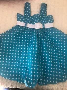 Vendo hermosos vestidos para niña