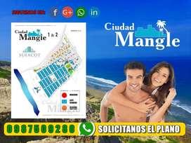 ¡Vendo Ultimos Terrenos de 200 M2 En Ciudad Mangle: Piscinas, Duchas, Áreas BBQ SD2