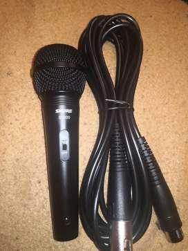 Microfono shure sv200