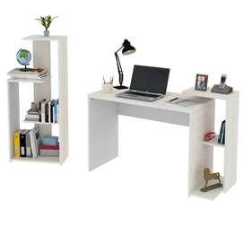 combo Z escritorio y biblioteca