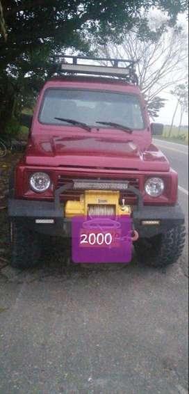 CAMPERO 4X4 2000, MODIFICADO RALLY VEMPERMUTO