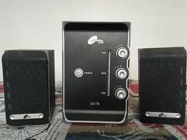 Parlantes Noga 2.1 50 watts usado