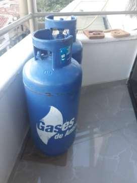 PIPETA DE GAS  AZUL (Gases de Antioquia) 40libras
