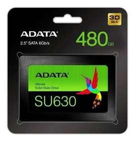 DISCO DE ESTADO SOLIDO SSD 480GB SU630 ADATA 3D SATA 2.5
