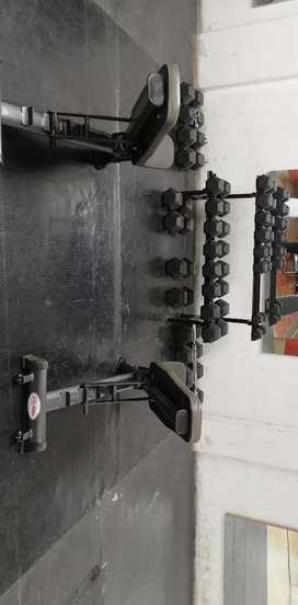 Venta de maquinas para gimnasio