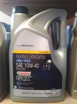 Aceite para vehículos cambio gratis