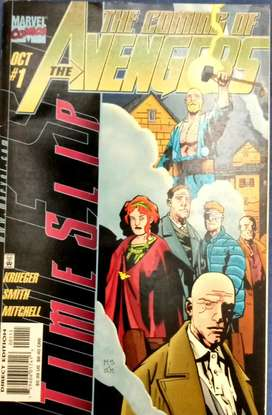 COMICS THE AVENGERS, THE COMING