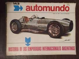 automovilismo 1968 argentina , automundo 143