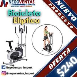 BICICLETA ELIPTICA CON PANEL DIGITAL