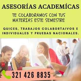Asesorias academicas universitarias