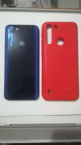 Motorola one fusión 64 gb azul