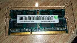 Memoria DDR3 SODIMM 2GB Notebook