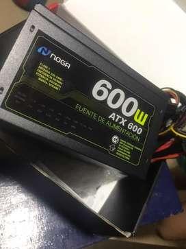 FUENTE 600w noga nueva