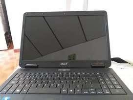 Computador portatil negro