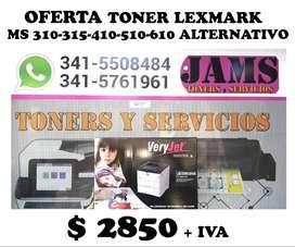 TONER LEXMARK ALTERNATIVO MS310-315-